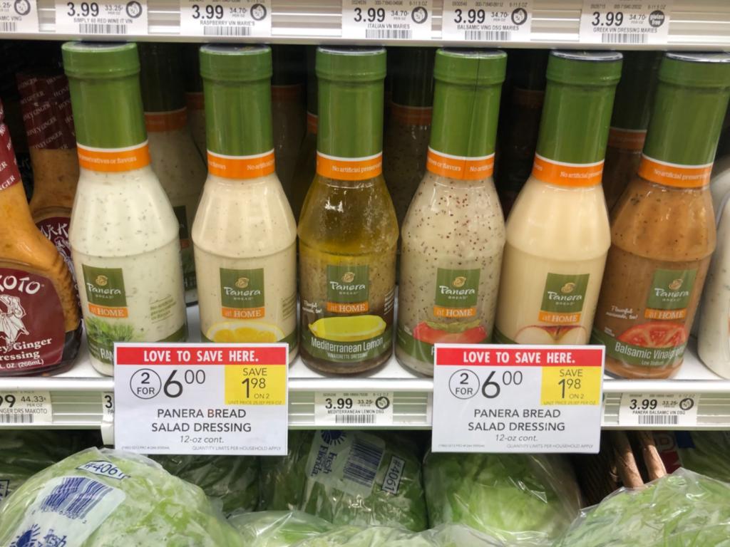 Panera Bread Salad Dressing Just $2 At Publix on I Heart Publix