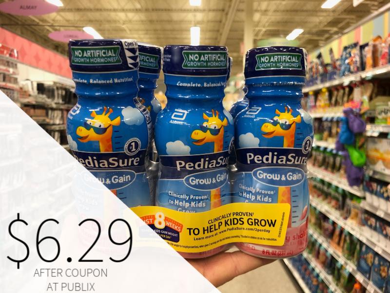PediaSure Grow & Gain Just $6.29 At Publix (Almost Half Off!) on I Heart Publix 2