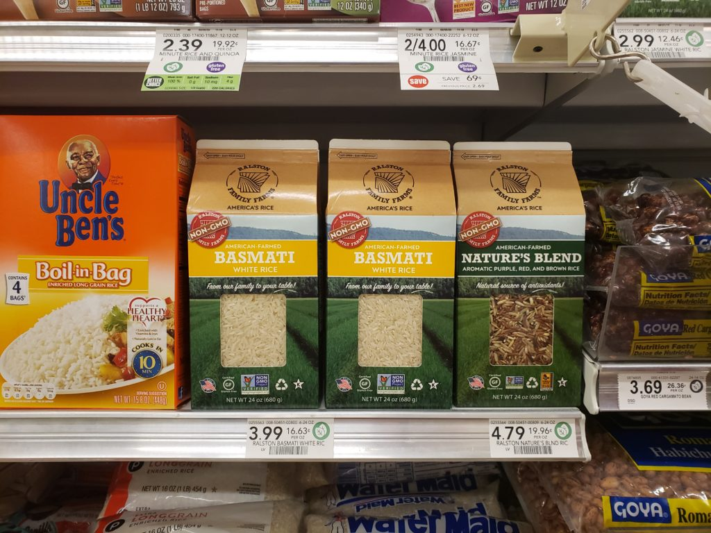 Ralston Family Farms Rice Just $ on I Heart Publix
