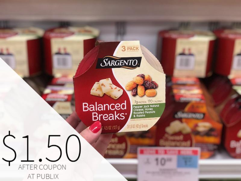 Sargento Balanced Breaks Snacks Just $1.50 At Publix on I Heart Publix