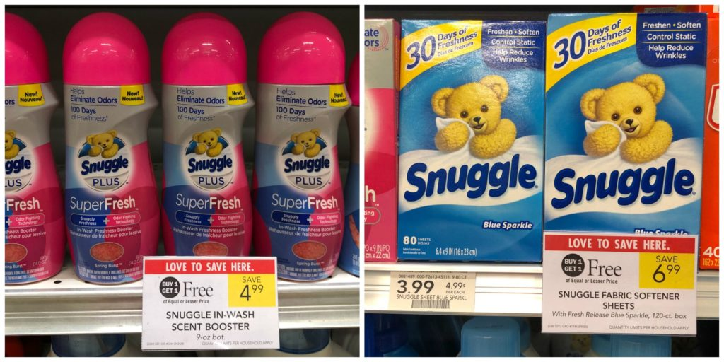 Snuggle Products As Low As $2 At Publix on I Heart Publix 1