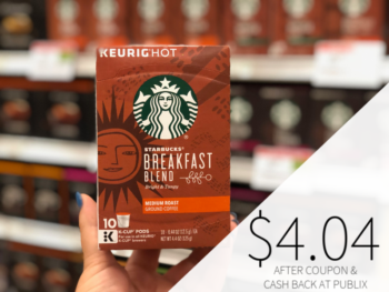 Starbucks K-Cup Coffee Just $4.04 At Publix on I Heart Publix