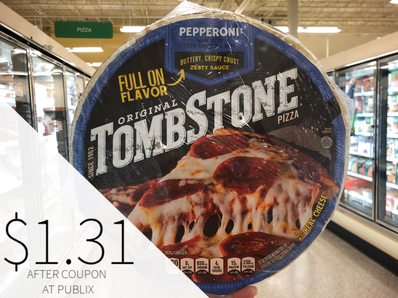 Tombstone Pizza Only $1.31 At Publix on I Heart Publix