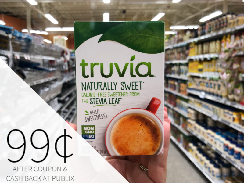 Truvia Only 99¢ At Publix on I Heart Publix 1