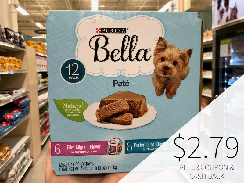 New Bella Dog Food Coupons on I Heart Publix