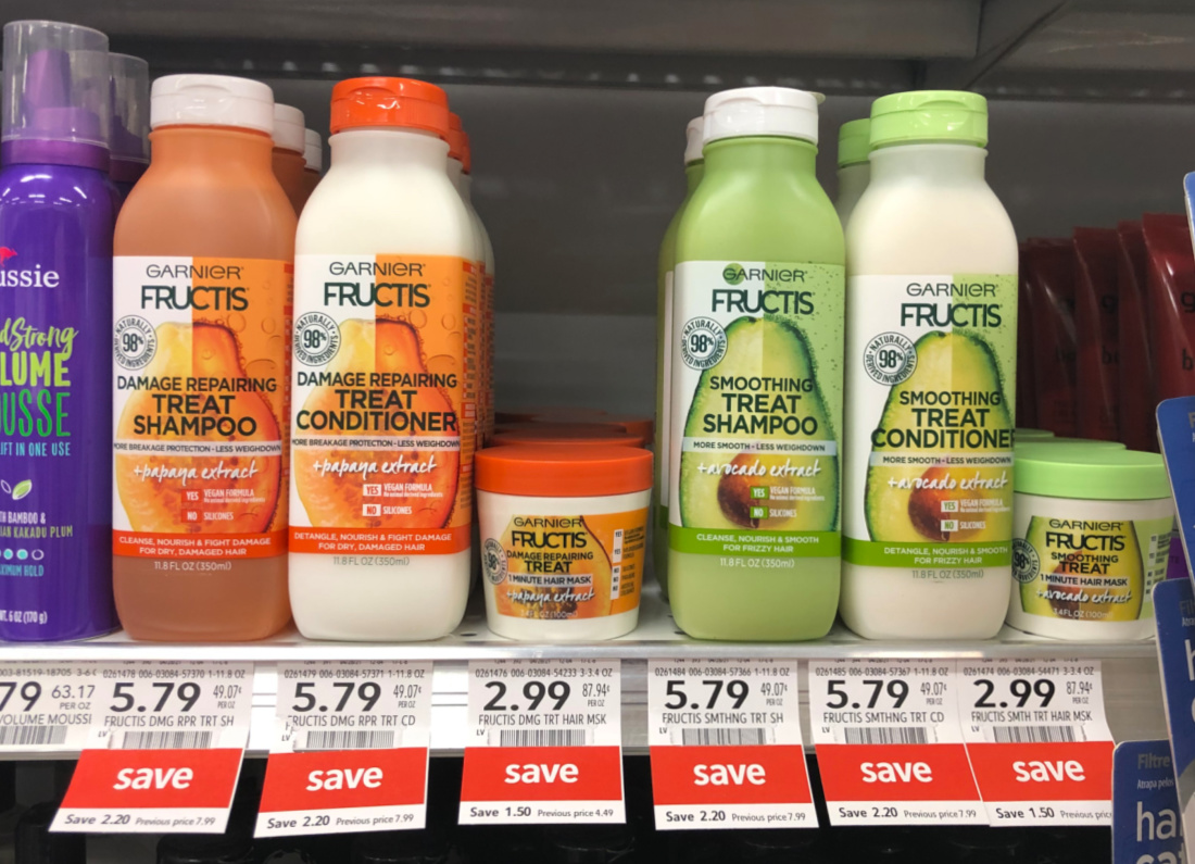Garnier Treat Hair Mask Just $2.49 At Publix (+ Discounted Shampoo/Conditioner) on I Heart Publix