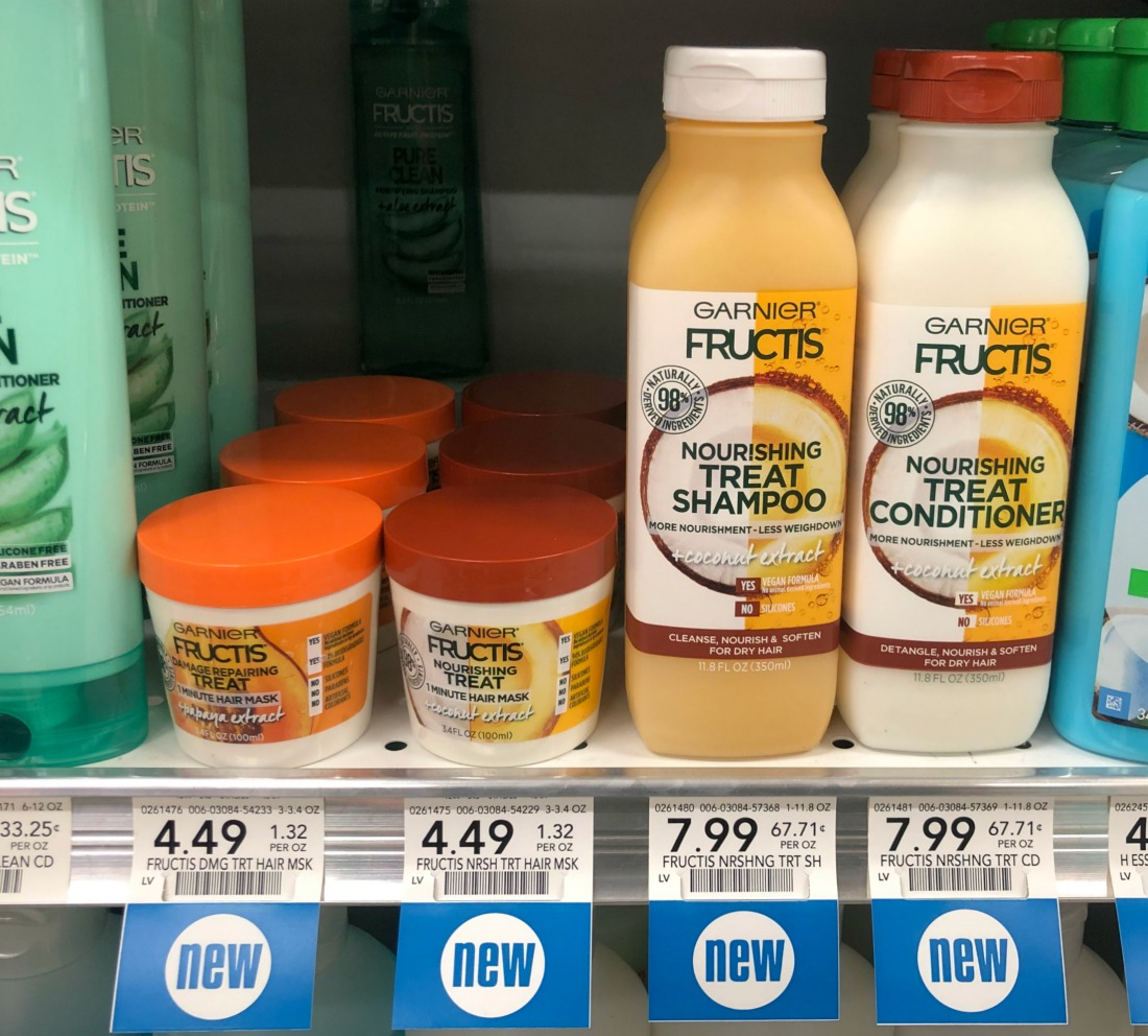 Garnier Treat Hair Mask Just 99¢ At Publix (+ Cheap Shampoo/Conditioner) on I Heart Publix