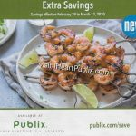 """Publix Grocery Advantage Buy Flyer – """"Extra Savings"""" Valid 2/29 to 3/13 on I Heart Publix"""