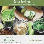 """Publix Grocery Advantage Buy Flyer – """"Extra Savings"""" Valid 2/15 to 2/28 on I Heart Publix"""