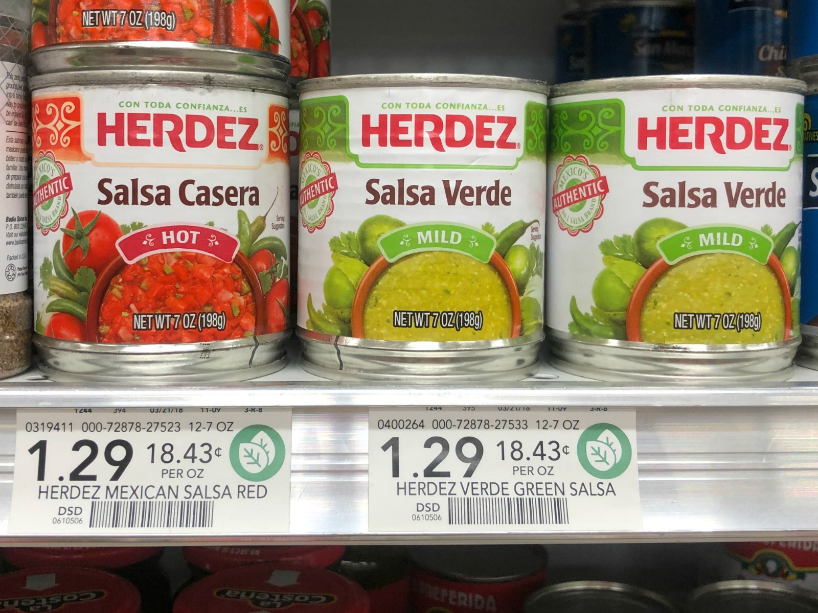 Herdez Salsa Casera or Salsa Verde - Just 74¢ At Publix on I Heart Publix 1