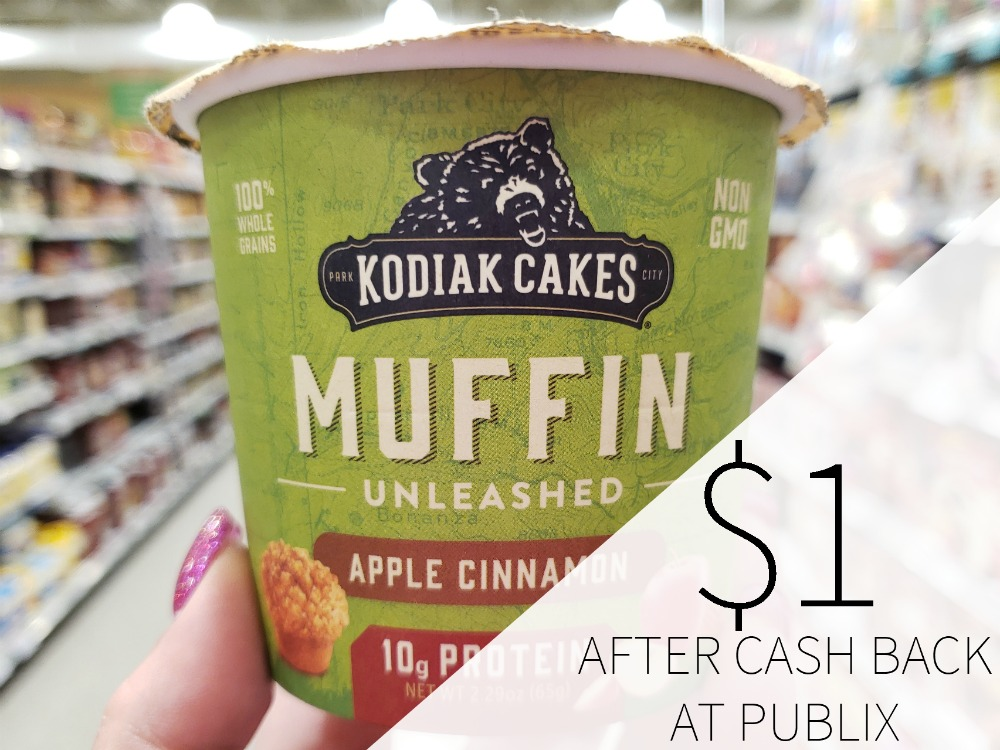 Kodiak Cakes Muffin Cups just $1 At Publix on I Heart Publix