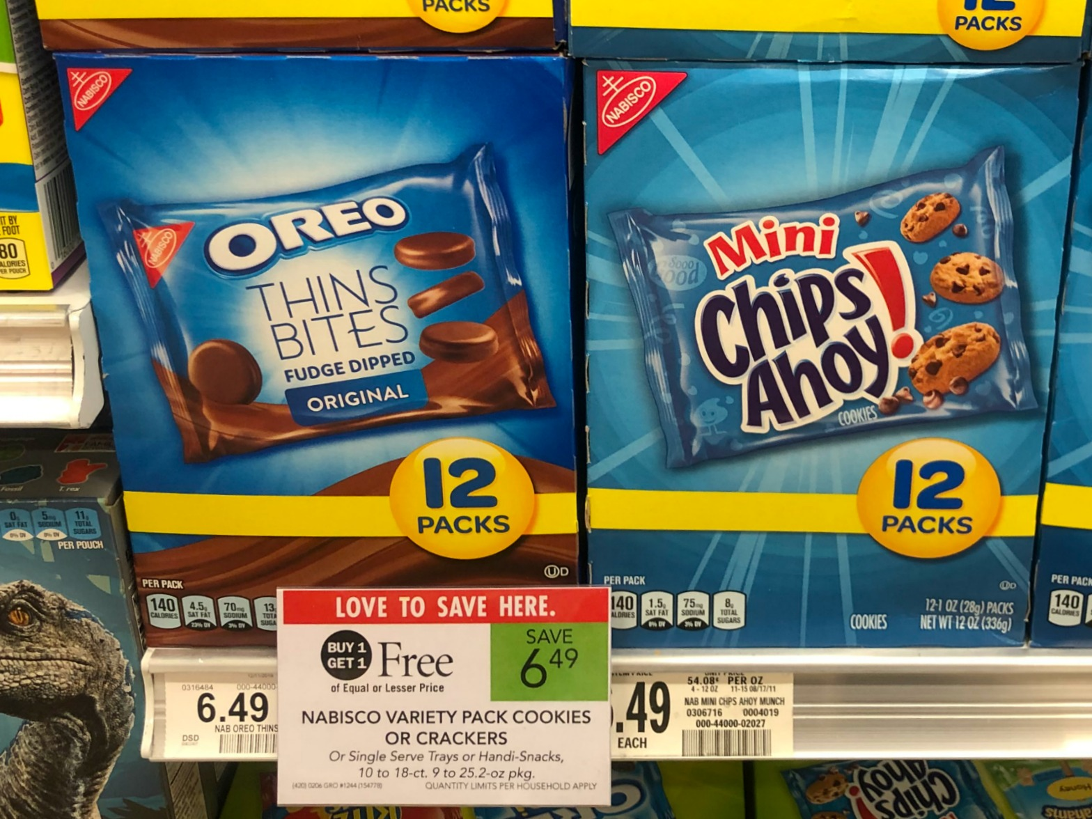 Nabisco Multipack Snacks As Low As $2.50 At Publix (Regular Price $6.49) on I Heart Publix 1
