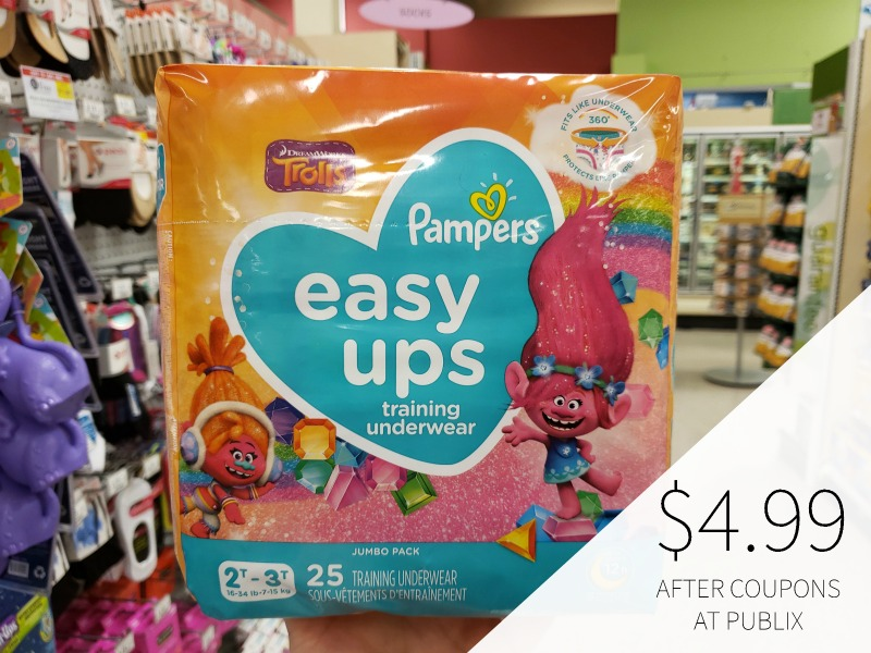 Pampers Easy-Ups Training Pants Only $5.99 At Publix on I Heart Publix 3