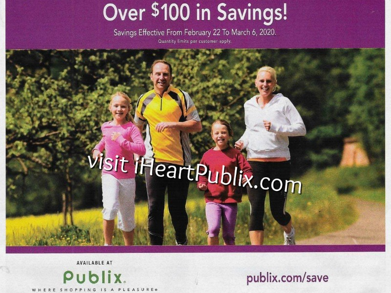 Publix Health & Beauty Advantage Buy Flyer Valid 2/22 to 3/6 on I Heart Publix