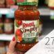 Ragu Simply Pasta Sauce Just 2¢ At Publix on I Heart Publix