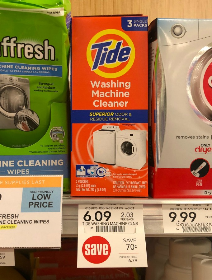 Tide Washing Machine Cleaner Just $4.09 At Publix on I Heart Publix
