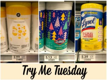 Try Me Tuesday - Publix Disinfecting Wipes on I Heart Publix