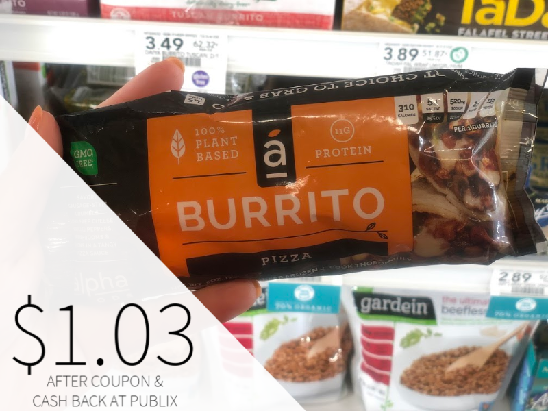 The Alpha Burrito Just $1.03 At Publix (regular Price $3.79) on I Heart Publix