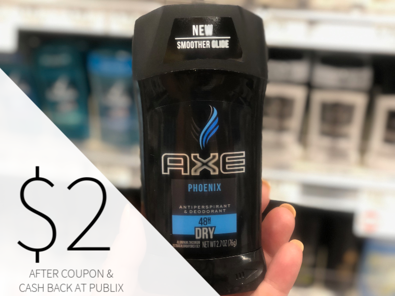 Axe Deodorant Only $2 At Publix on I Heart Publix