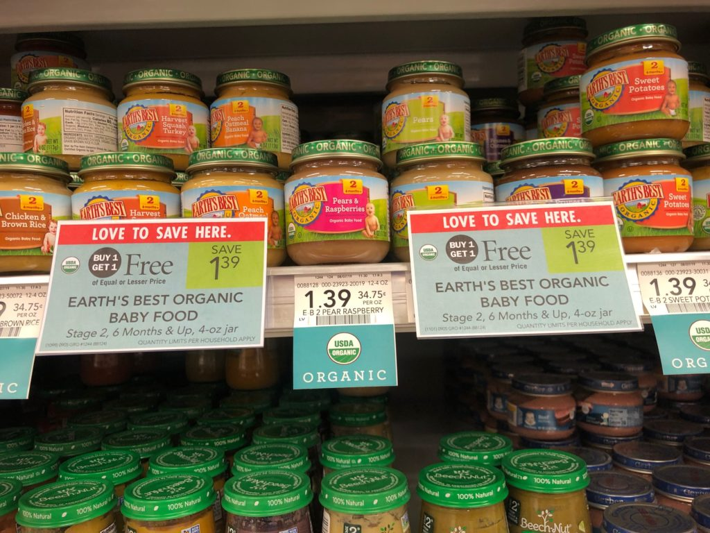 Earth's Best Organic Baby Food on I Heart Publix