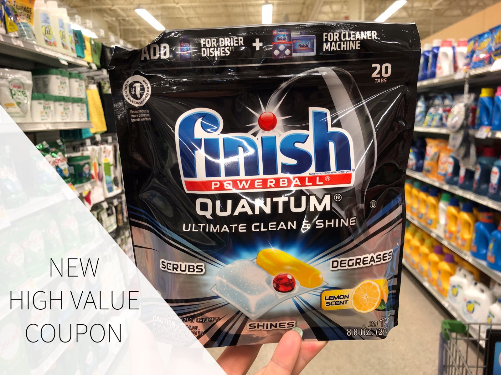 High Value Finish Coupon To Print! on I Heart Publix