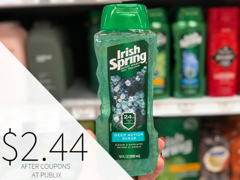 Irish Spring Body Wash Only $2.44 At Publix on I Heart Publix