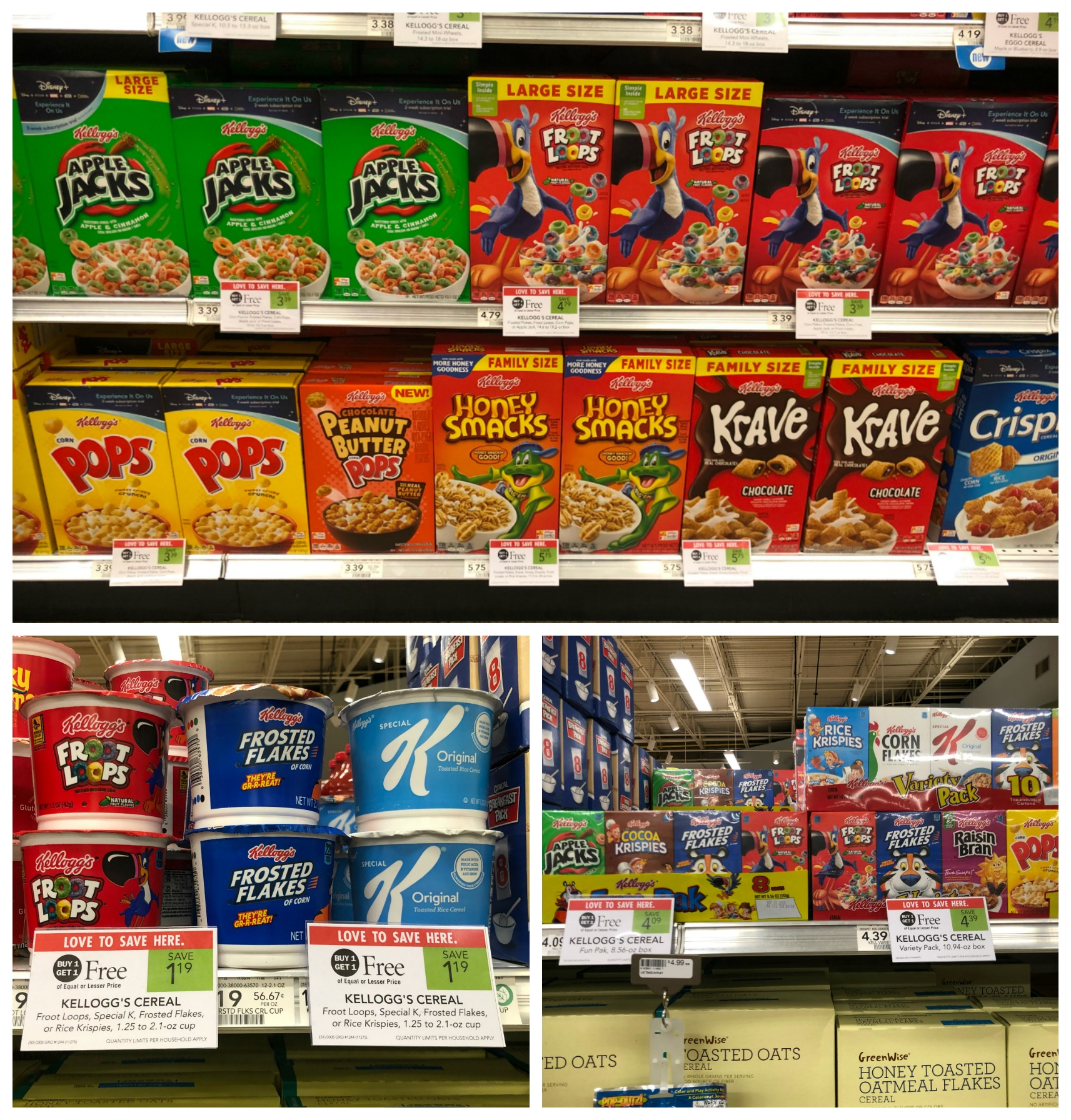 Big News!! All Kellogg's Cereals Are Buy One Get One FREE This Week At Publix! on I Heart Publix