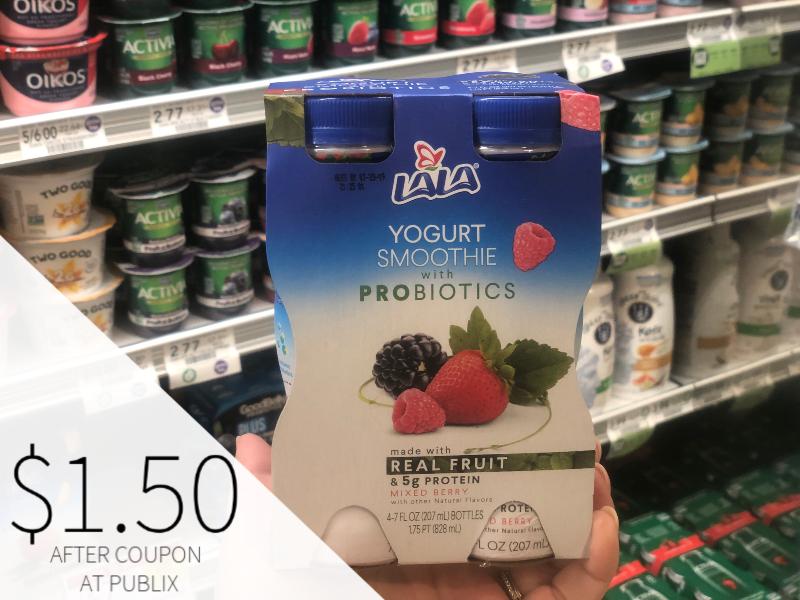Lala Yogurt Smoothie on I Heart Publix 1