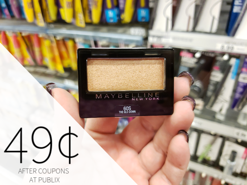 Maybelline Cosmetics As Low As 49¢ At Publix on I Heart Publix 1