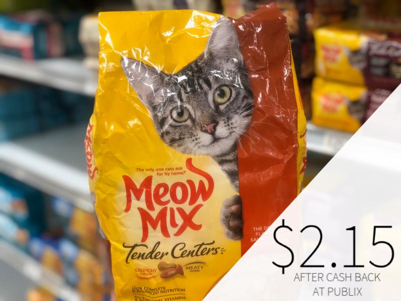 Meow Mix Cat Food on I Heart Publix