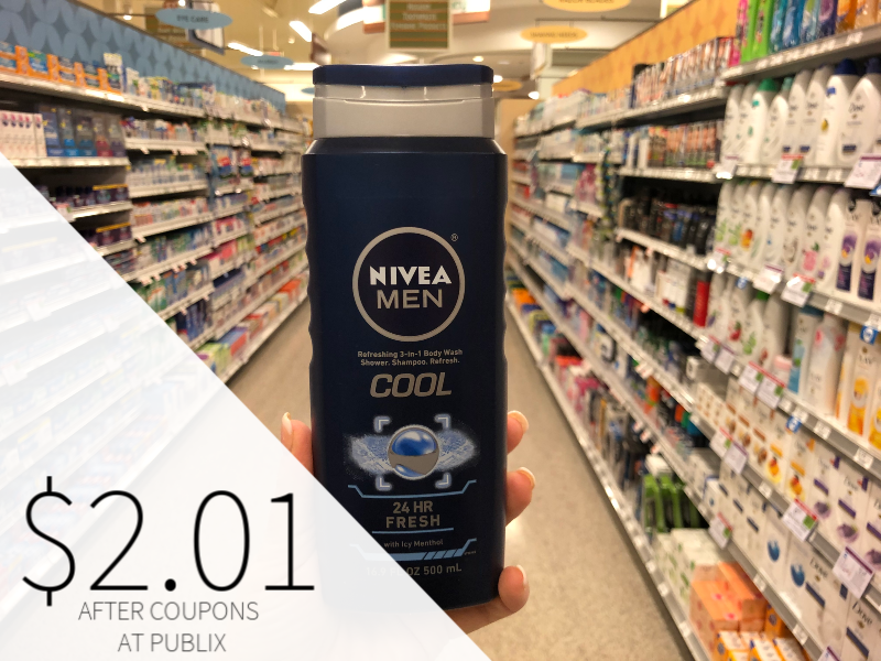 Nivea Men Body Wash Only $2.01 At Publix on I Heart Publix 1