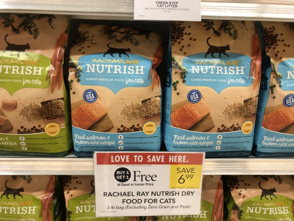 Rachael Ray Nutrish Dry Food For Cats Only 50¢ At Publix on I Heart Publix