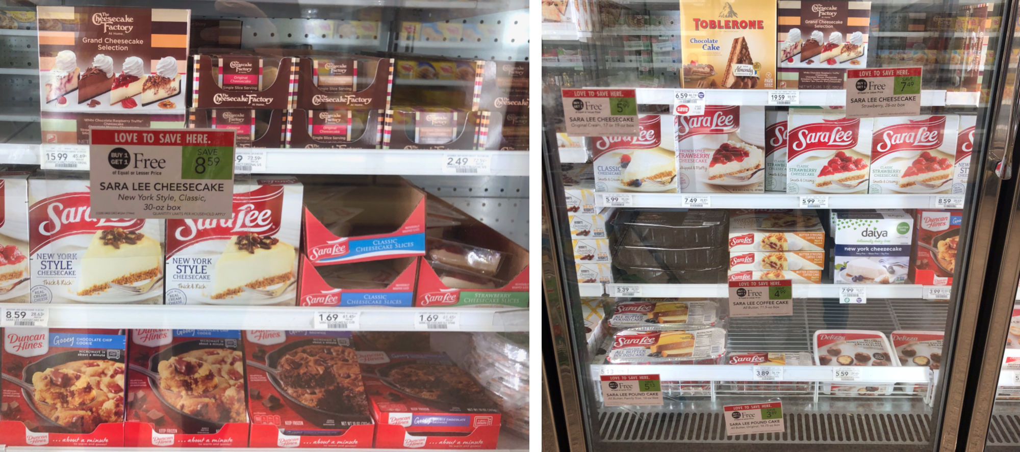 Sara Lee Pound Cheesecake Slices As Low As 20¢ At Publix on I Heart Publix 1