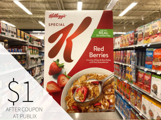 Kellogg's® Cereals Are A Delicious & Smart Meal Choice - Save Now At Publix on I Heart Publix 1