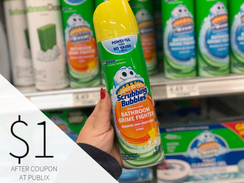 Scrubbing Bubbles Bathroom Cleaner Only $1 At Publix on I Heart Publix