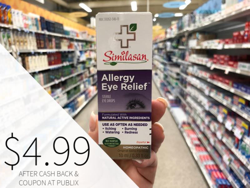 Similasan Allergy Eye Relief Drops Only $4.99 At Publix on I Heart Publix