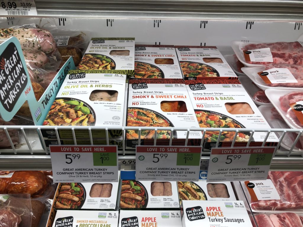 The Great American Turkey Company Turkey Breast Strips Just $4.99 At Publix on I Heart Publix