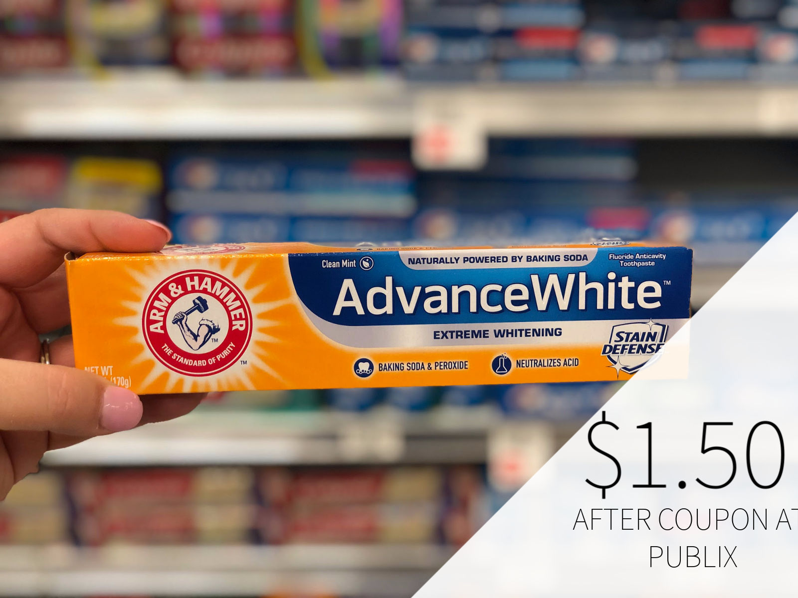 New Arm & Hammer Toothpaste Coupon For The Upcoming Publix Sale on I Heart Publix