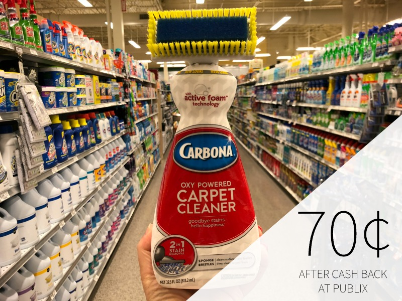 Carbona Carpet Cleaner As Low As 70¢ At Publix on I Heart Publix