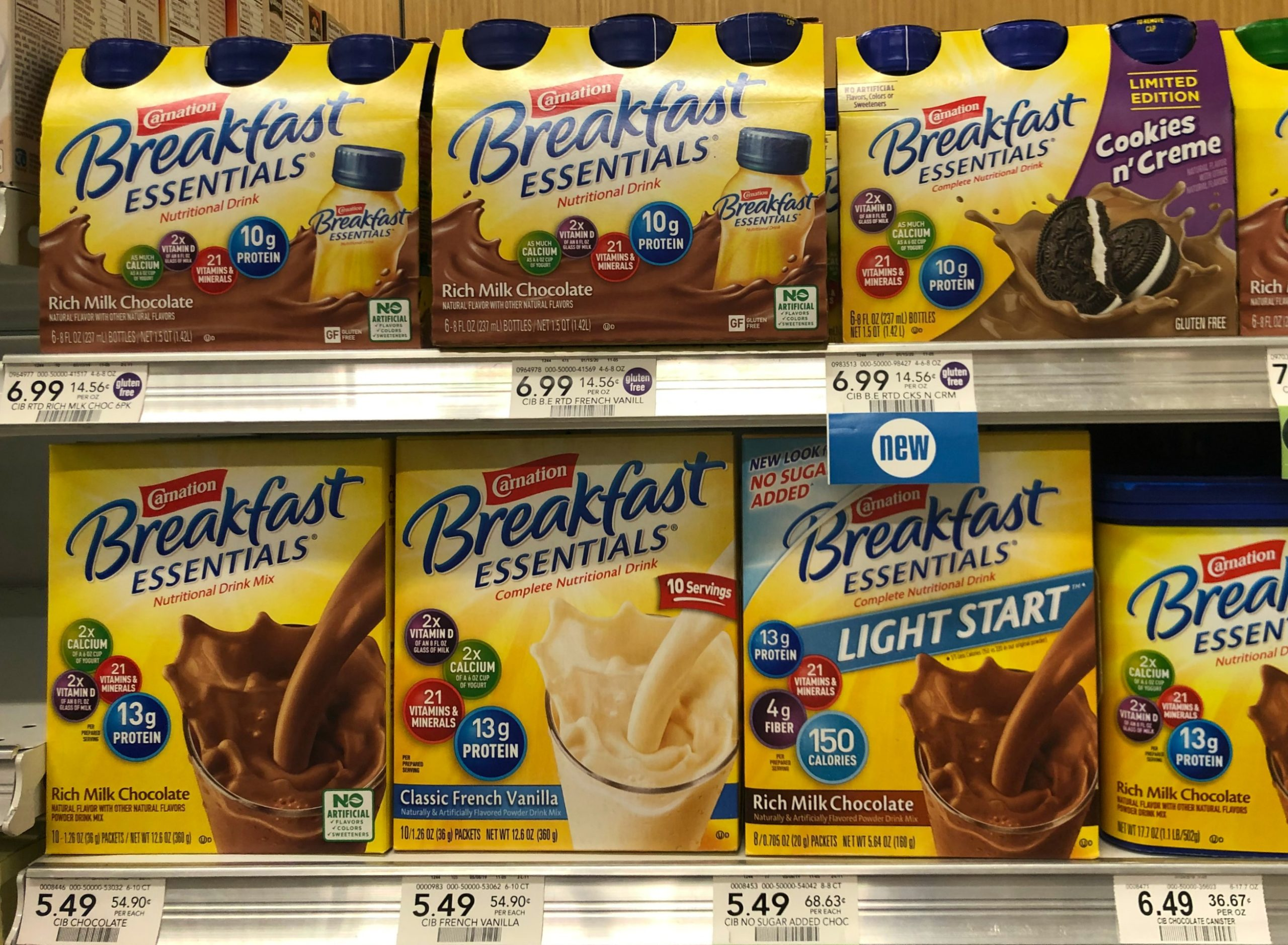 Carnation Breakfast Essentials As Low As $2.49 At Publix (25¢ Per Serving) on I Heart Publix 1