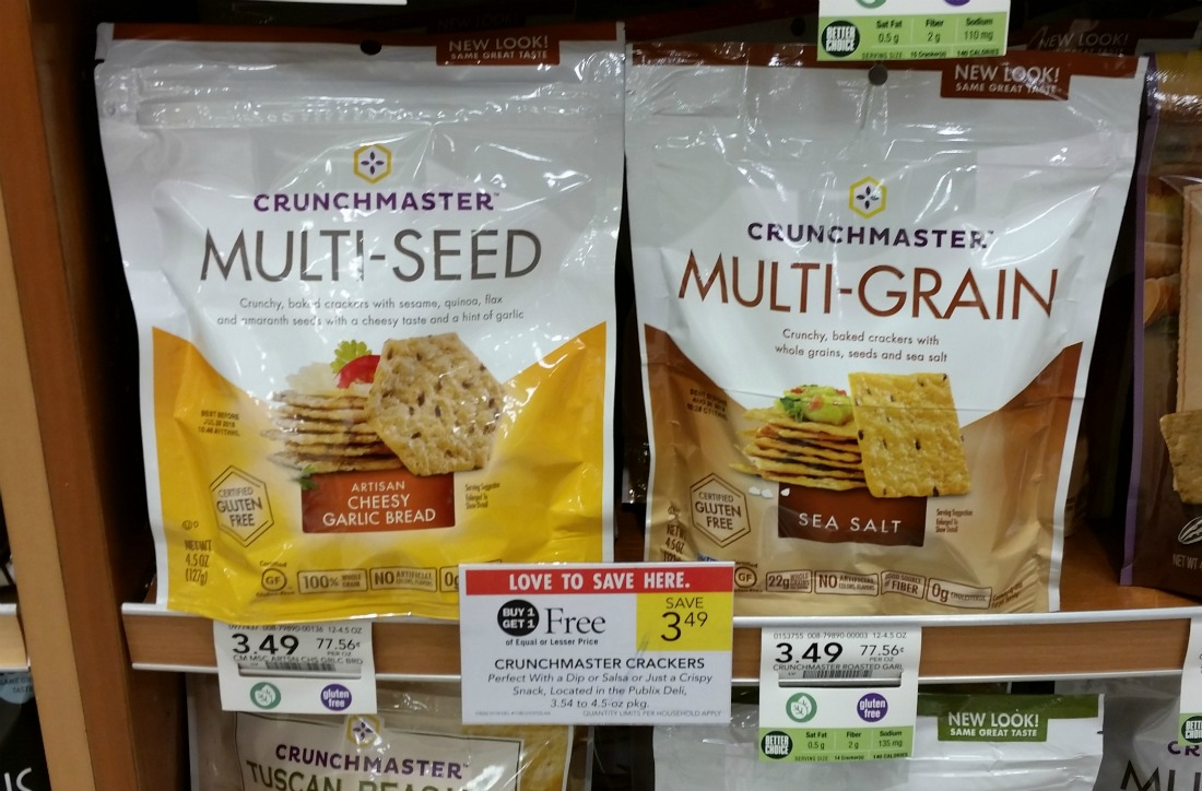 Crunchmaster Crackers As Low As FREE At Publix on I Heart Publix