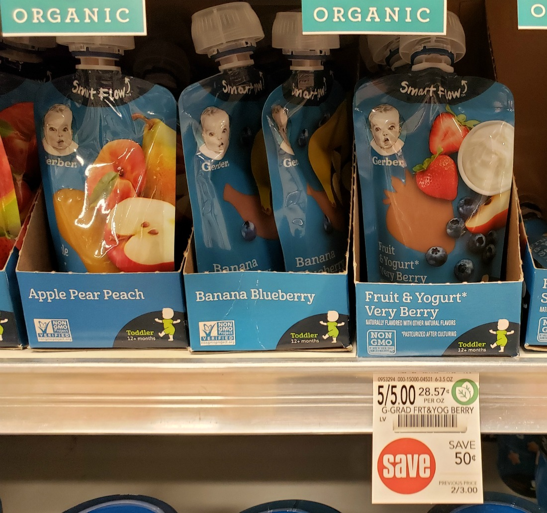 FREE Gerber Baby Food At Publix on I Heart Publix