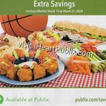 """Publix Grocery Advantage Buy Flyer – """"Extra Savings"""" Valid 3/14 to 3/27 on I Heart Publix"""