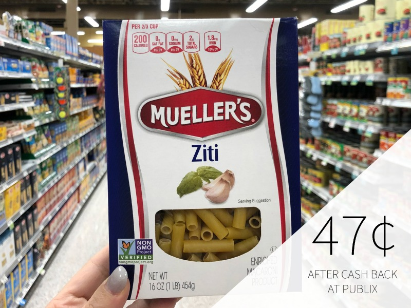Mueller's Pasta Just 30¢ At Publix on I Heart Publix