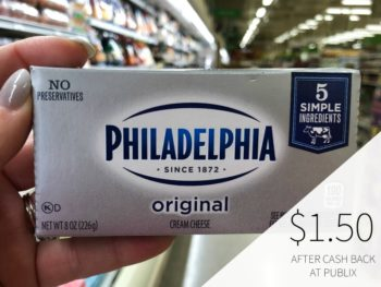 Philadelphia Cream Cheese Just $1.50 At Publix on I Heart Publix