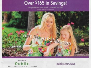 Publix Health & Beauty Advantage Buy Flyer Valid 3/7 to 3/20 on I Heart Publix