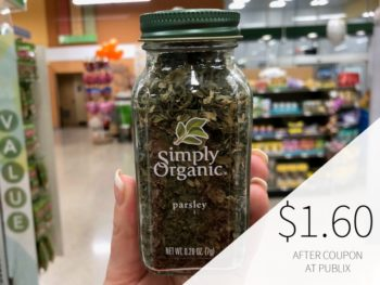 Simply Organic Spices As Low As $1.60 At Publix on I Heart Publix 1