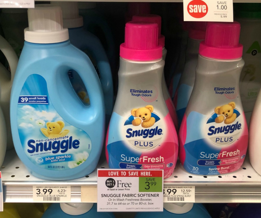 Snuggle Products Only $1 At Publix on I Heart Publix 2