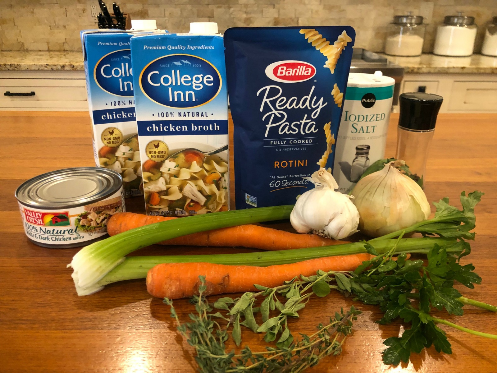 Easiest Chicken Noodle Soup - Super Recipe To Go With The Sales At Publix on I Heart Publix