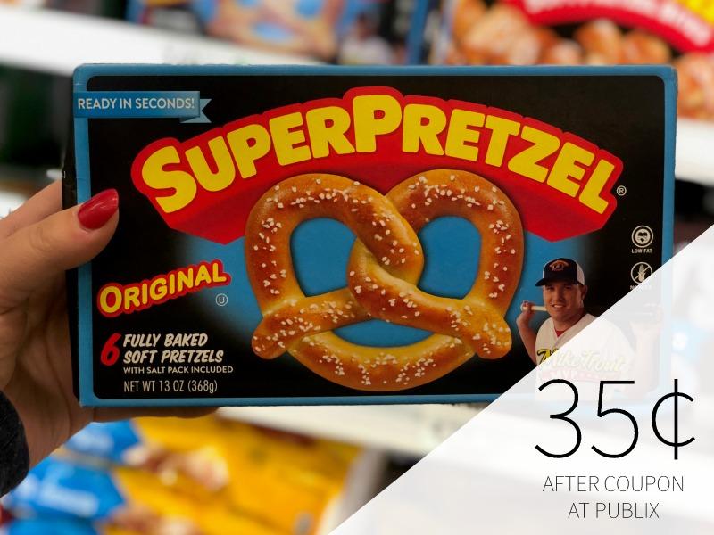 SuperPretzel Soft Pretzels Just 10¢ Per Box At Publix on I Heart Publix 1